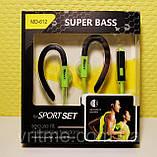 Спортивні навушники Super Bass MD-612 for Sport, фото 5