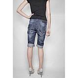 Шорты - бриджи джинсовые с подворотом Picnic ВЕСНА/ЛЕТО, фото 3