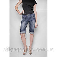 Шорты - бриджи джинсовые с подворотом Picnic ВЕСНА/ЛЕТО