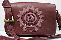 Кожаная женская сумка Handmade (Украина)