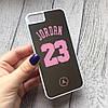 Пластиковый зеркальный чехол Jordan для iPhone 5/5s/se, фото 2
