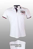 Футболка-поло мужская NAPAPIJRI 18019 белая