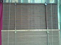 Бамбуковые рулонные шторы соломка 140/160