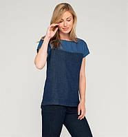 Женская джинсовая футболка (размер 42), фото 1