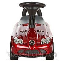 Детская машинка каталка толокар Bambi M 3189S-3 Mercedes музыка EVA колеса Покраска, фото 3