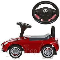 Детская машинка каталка толокар Bambi M 3189S-3 Mercedes музыка EVA колеса Покраска, фото 2