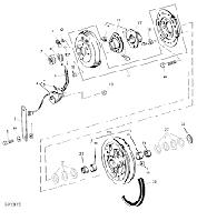 John Deere AH139936/AH121657 Шкив электромагнитной муфты Джон Дир