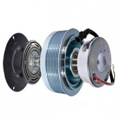 Муфта компрессора кондиционера для трактора Case MX255/285, Magnum 310/335, фото 2