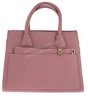Небольшая вместительная женская сумочка с барсеткой в комплекте art. 607 сиреневая