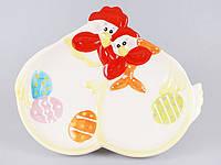 Декоративная подставка для яиц 28см Курочки