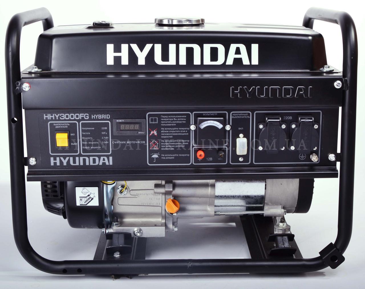 Генератор бензиновый Hyundai HHY 3000FG