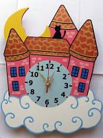 Детские настенные часы «Замок в облаках», Funny Animals