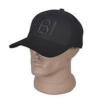 Мужская бейсболка с вышитым логотипом FBI - Модель 29-632