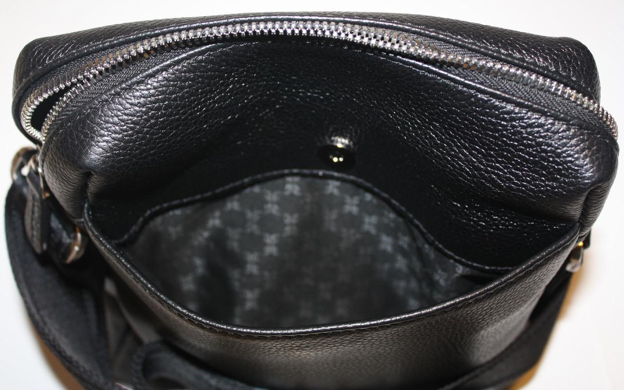 6f6aca60a651 Сумка мужская Tergan натуральная кожа черная, цена 3 292 грн., купить в  Харькове — Prom.ua (ID#510601568)