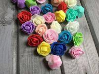 Розы латексные, 2 см