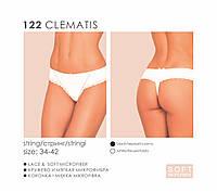 Стринги Kleo  CLEMATIS 122 белые