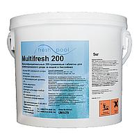 Многофункциональные таблетки хлора MultiFresh 200,  Fresh Pool 50 кг