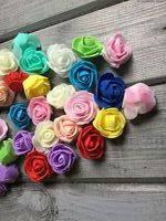 Розы латексные, 3 см