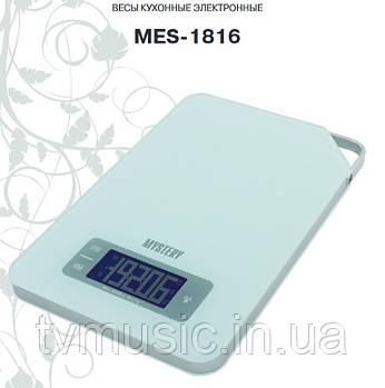 Весы кухонные Mystery MES-1816