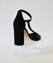 Туфли лакированные черные Nivelle 1594, фото 3