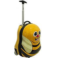 Чемодан детский на колесиках Bee