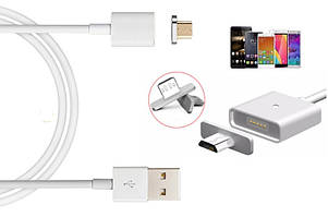 Магнитный кабель Micro USB для зарядки Qumo Quest 600