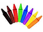 Цветные толстые восковые карандаши Crayola (мелки) для малышей в бочонке 24 шт (0784), фото 2