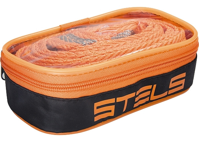 Трос буксировочный 7 тон, 2 крюка, сумка на молнии STELS