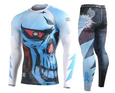 Комплект Рашгард Fixgear и компрессионные штаны CFL-78+FPL-78, фото 2