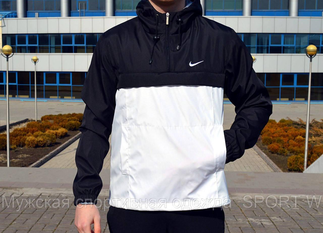 94d18d88 Мужской, весенний Анорак Nike. Черно-белый.: продажа, цена в ...