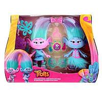 Hasbro Тролли Близнецы Сатин и Шенилл Trolls B6563