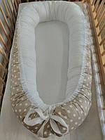 Колыбелька-кокон для новорожденных бежевый