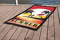 Пляжное полотенце Lotus Summer Sunset 75*150 велюр