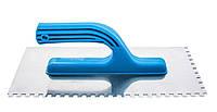 Терка шлифовальная нержавеющая 270 мм 140 мм зубья 4 на 4 мм