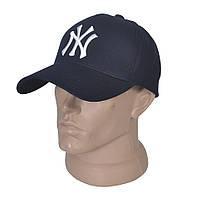 Мужская бейсболка с вышитым логотипом NY - Модель 29-636