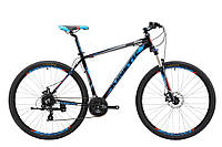 """Велосипед KINETIC CRYSTAL 29"""", рама 17"""", черно-синий"""