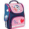 Рюкзак школьный каркасный Kite 501 Cute Bunny, фото 2