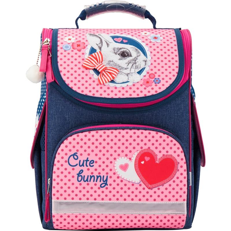 Рюкзак школьный каркасный Kite 501 Cute Bunny