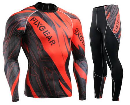 Комплект Рашгард Fixgear и компрессионные штаны CFL-68+P2L-68, фото 2