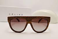 Женские солнцезащитные очки Celine CL 41026/S SHADOW Коричневый цвет