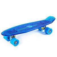 Скейтборд Penny Board колеса PU, светящиеся дека JP-HB-21B