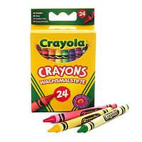 Цветные восковые карандаши Crayola (мелки) 24 шт