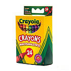 Цветные восковые карандаши Crayola (мелки) 24 шт (арт. 0024), фото 2
