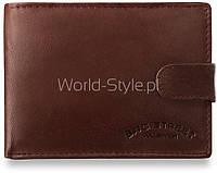 06-03 Коричневый мужской бумажник Romana