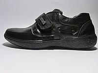 Черные демисезонные туфли. Размер 39