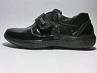 Черные демисезонные туфли. Размер 37