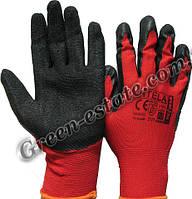 Рабочие перчатки с латексным вспененным покрытием Rtella
