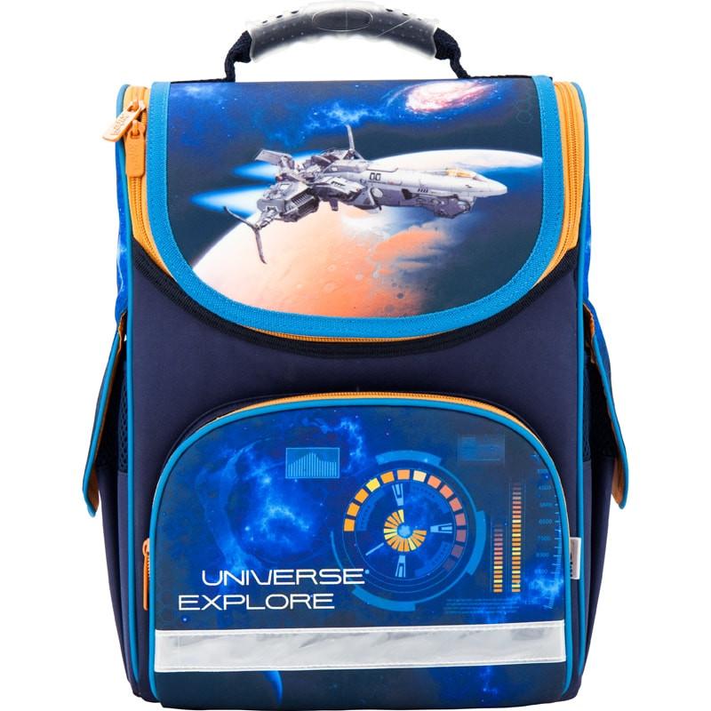 Рюкзак школьный каркасный Kite 501 Universe explore