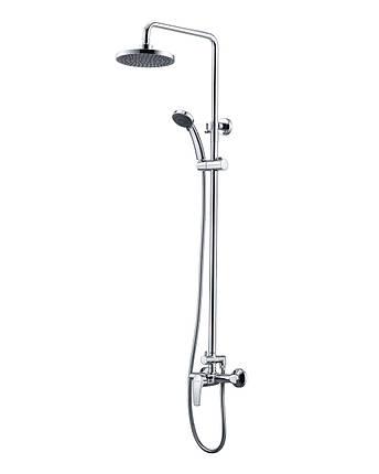 Imprese JESENIK душевая система  (смеситель для душа, верхний и ручной душ, 3 режима, шланг 1,5м), фото 2