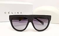 Женские солнцезащитные очки Celine CL 41026/S SHADOW оправа дерево